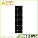 100W 1つの太陽ドアライトLEDの街灯の時間25年の太陽電池パネルの生命すべて