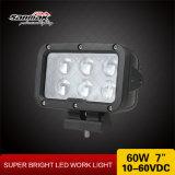 """7 """" 60watt impermeabilizzano l'indicatore luminoso del lavoro del CREE LED"""