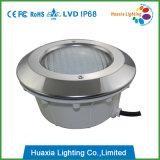 12V para la luz de la piscina de la piscina PAR56 LED del trazador de líneas con el lugar del acero inoxidable