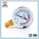 Manómetro aneróide coluna feita sob encomenda da medida da pressão da câmara de ar de U da única