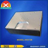 기지국 방송 전송기를 위한 산화된 알루미늄 열 싱크