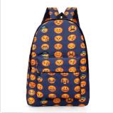 女の子の子供のEmoji Bookbagsの学校のバックパックのリュックサックの学生かばんの肩旅行袋