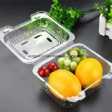 Embalagem transparente da bolha do vegetal & da fruta