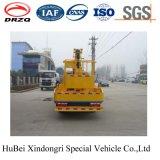 14-16m Dongfeng 새로운 디자인을%s 가진 공중 플래트홈 트럭