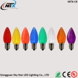 Des Feiertags-Beleuchtung-Anschluss-LED Zeichenkette-Birne Lampen-des Diamant-C7 C9