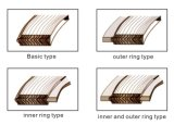 SS304リングの拡大されるか、または適用範囲が広いグラファイトの螺線形の傷のガスケット