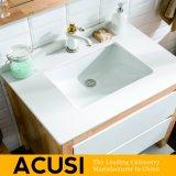 Vanité simple américaine en gros de la meilleure qualité neuve de salle de bains en bois solide de type (ACS1-W54)