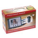 눈에 보이는 영상 문 전화 오디오 현관의 벨 주택 안전 시스템