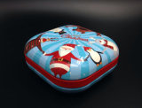 Big Square Metal Cookie Tin Gift Box / Container (S001-V6)