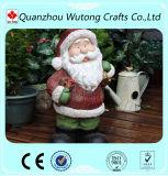 クリスマスの屋外の装飾の永続的な樹脂のサンタクロースの置物