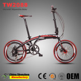 Bicicletta piegante di qualità superiore della bici della lega di alluminio del freno a disco di 20inch 16speed