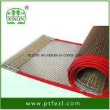 De hoge Transportband van het Roestvrij staal PTFE van het Netwerk van de Duurzaamheid Teflon