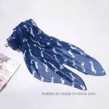 Écharpe personnalisée de voile de polyester estampée par crabot (HP18)
