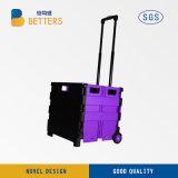 Извлеките шток СЛ автомобилей автомобиль передвижной тележке фиолетового цвета
