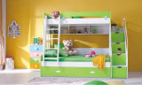 Кровать нары мебели детей деревянная с Bookcase (HC803)