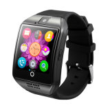 Montre intelligente androïde de vente chaude d'hommes de Bluetooth Q18 des prix de téléphone mobile de montre de main