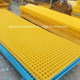 GRP Pultrudedの格子またはガラス繊維の格子か棒Grating/GRP堀カバー