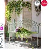 Banco antioxidante del jardín del asiento del hierro dos de Powerlon Wrougnt
