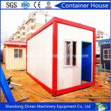 Casa modular del envase del edificio de los paneles ligeros de la estructura de acero y de emparedado