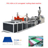 PMMA PVC+Asa carrelage vitrifié Machine de production, la feuille de toiture en plastique de la machine