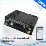 Controle de aplicativo SMS Rastreador GPS do veículo com o trabalho da plataforma da Web
