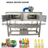 Manuel manchon Semi-Auto tunnel de rétraction de l'étiquetage de la machine pour bouteille le capuchon du corps