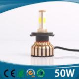 熱い販売IP68 6000k 12V 24V 36W 4000lmのハイ・ロービーム高い発電自動車H4 LEDのヘッドライト