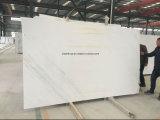 Italienische weiße grosse Marmormarmorierungplatte