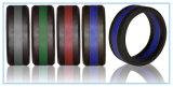 Anel de casamento do silicone para homens e mulheres em Multicolor