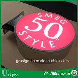 En acrylique de haute qualité de la publicité Logo de la signalisation à LED