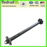 鋳鉄はトレーラーの部品のトレーラーの車軸を分ける