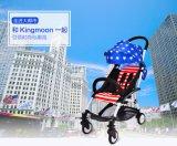 Baby-Spaziergänger-/Baby-Kinderwagen-Arbeitsweg-Systems-AluminiumSpaziergänger der neuen Art-2016 Multifunktionsbeweglicher