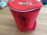 Cassa rotonda promozionale della casella del sacchetto del dispositivo di raffreddamento dell'alimento con PEVA