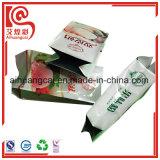 Refuerzo lateral de la bolsa de comida de plástico