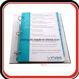 Kundenspezifisches Papierarchiv-Faltblatt-Drucken der Ausgabe-A4