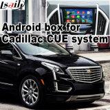 Cadre de navigation de l'androïde 4.4 GPS pour ATS de Cadillac, Xts, Srx, Cts, (SYSTÈME de CARACTÈRE INDICATEUR) navigation visuelle de contact de mise à niveau de la surface adjacente Xt5, WiFi, Mirrorlink
