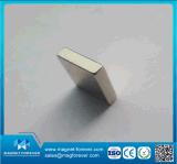Подгонянные N50 магниты NdFeB неодимия блока размера для диктора