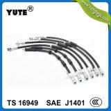 Manguito de alta presión de goma del freno de Yute EPDM para las piezas del coche