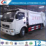 Dongfengの低価格8cbmのガーベージのコンパクターのトラック