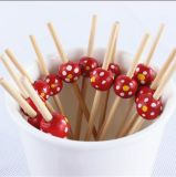 Ferramenta de churrasco Good-Looking espeto de frutas de bambu/Stick/Pick (BC-BS1046)