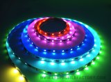 Lumière de bande rigide flexible de la barre DEL de RVB de lumière colorée lumineuse de bande
