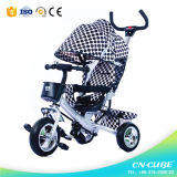 Three Wheel Hand Push Children / Baby Tricycle