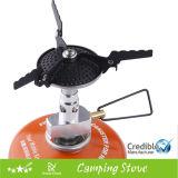 Anti-Scottare la migliore stufa di campeggio esterna del gas del mini Cookware esterno