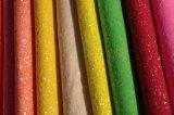 단화를 위한 다채로운 반짝임 PU 가죽