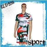 Jóia de rugby Sublimated de alta qualidade e nova, camisetas de rugby de marca personalizada