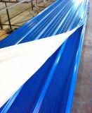 Folha ondulada da telhadura da instalação rápida rica da cor