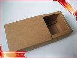 Caja de embalaje del caramelo de torta del rectángulo de la joyería de papel del regalo