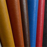 Софа делая PU кожаный синтетическую кожу для мебели