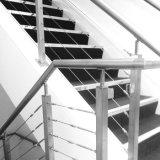 Het Traliewerk van de Leuning van de Balustrade van het roestvrij staal