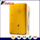 Telefono impermeabile di Phoneoutdoor SOS di zona resistente con il microtelefono Knzd-09A di Rubost